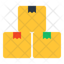 Parcels Packages Cardboards Icon