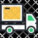 Cargo Delivery Van Icon