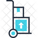 Cargo Delivery Hand Icon