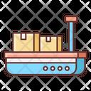 Cargo Barge Icon