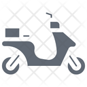 Cargo Bike Delivery Bike Scooter Icon
