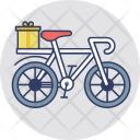 Delivery Cycle Cargo Icon