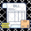 Cargo Bill Icon
