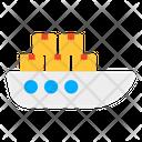 Cargo Boat Cargo Ship Shipment Icon
