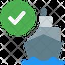 Cargo Check Ship Checklist Ship Check Icon