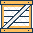 Cargo Container Warehouse Icon