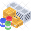 Parcels Containerization Cargo Container Icon