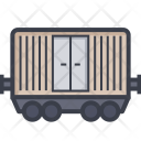Cargo Container Train Icon