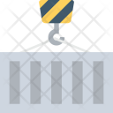 Cargo Container Shipping Icon