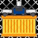 Cargo Container Crane Icon