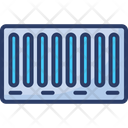 Cargo Container Shipping Loading Icon