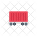 Container Truck Shipping Icon