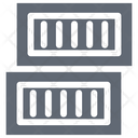 Cargo Container Shipping Container Logistics Delivery Icon