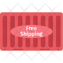 Cargo Container Shipping Delivery Icon