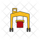Cargo Crane Container Crane Vehicle Icon