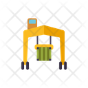 Cargo Crane Container Crane Vehicle Icon