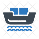 Cruise Ship Logistics Icon