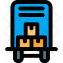 Cargo Delivery Moving Truck Boxes Moving Truck Icon