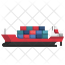 Cargo Delivery Consignment Delivery Sea Freight Icon