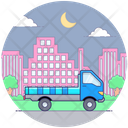 Cargo Delivery Truck Delivery Van Logistics Transport Icon
