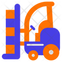 Cargo Lift Car Icon