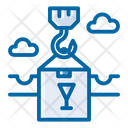 Cargo Loading Container Shipping Icon