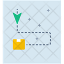 Cargo Location Delivery Location Order Tracking Icon