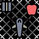 Cargo Plane Aircraft Transportation Icon