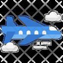 Flight Airplane Air Freight Icon