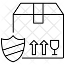Secure Parcel Fragile Parcel Cargo Protection Icon