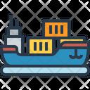 Cargo Ship Cargo Ship Icon