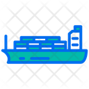 Cargo Ship Cargo Container Ship Icon