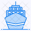 Cargo Ship Maritime Sea Freight Icon