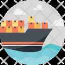 Transportation Cargo Mega Icon