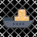 Cruise Logistics Delivery Icon