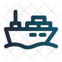Ship Delivery Cart Ecommerce Icon