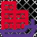 Cargo Ship Cargo Shipment Icon