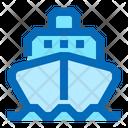 Cargo Ship Ship Sea Freight Icon