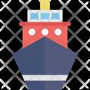 Cargo Ship Shipment Icon
