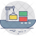 Shipment Freight Consignment Icon