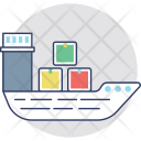 Ship Cruise Boat Icon