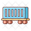 Cargo Train Container Train Container Icon
