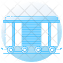 Cargo Train Freight Train Railway Transport Icon