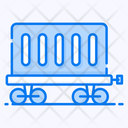 Cargo Train Goods Train Transport Icon