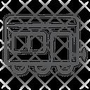 Cargo Container Cargo Train Transport Icon