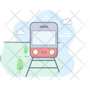 Cargo Train Train Shipping Icon