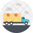 Transportation Delivery Package Icon