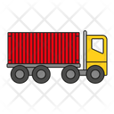 Cargo Truck Container Truck Truck Icon