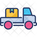 Cargo Transport Truck Icon