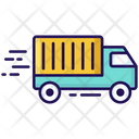 Cargo Van Transport Vehicle Icon